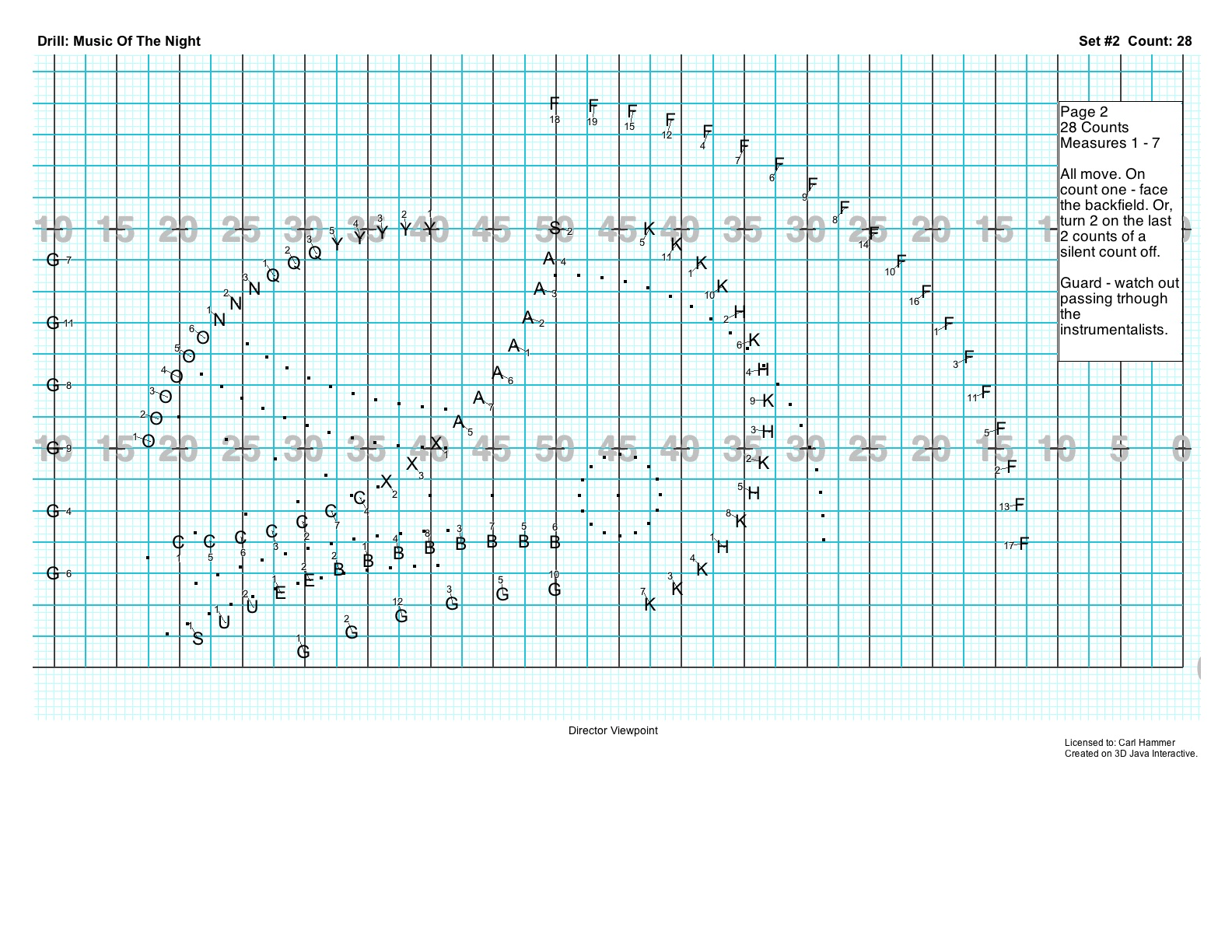 Pyware Marching Band Drill Design Software